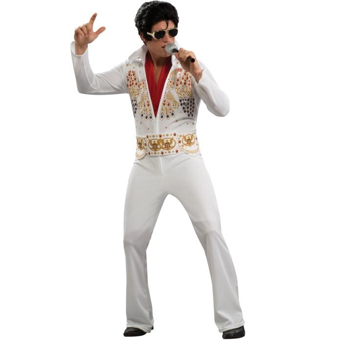 エルビス・プレスリー コスチューム コスプレ衣装 (二次会、結婚式、仮装、パーティー、宴会、ハロウィン) 男性女性 大人用