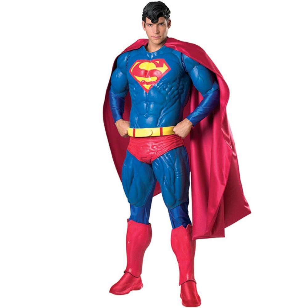 スーパーマンのコスチューム保存版9点セット大人用 コスチューム コスプレ衣装 (二次会、結婚式 コスプレ衣装、仮装、パーティー、宴会 男性 コスチューム、舞台、演劇、ハロウィン、大きいサイズ)大人用 男性, 和寒町:297e74dc --- officewill.xsrv.jp