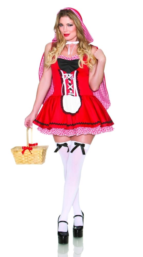 魅惑的な赤ずきんちゃん セクシー コスチューム アダルト 2点セット コスチューム コスプレ衣装 (二次会、結婚式、仮装、パーティー、宴会、ハロウィン)大人女性用