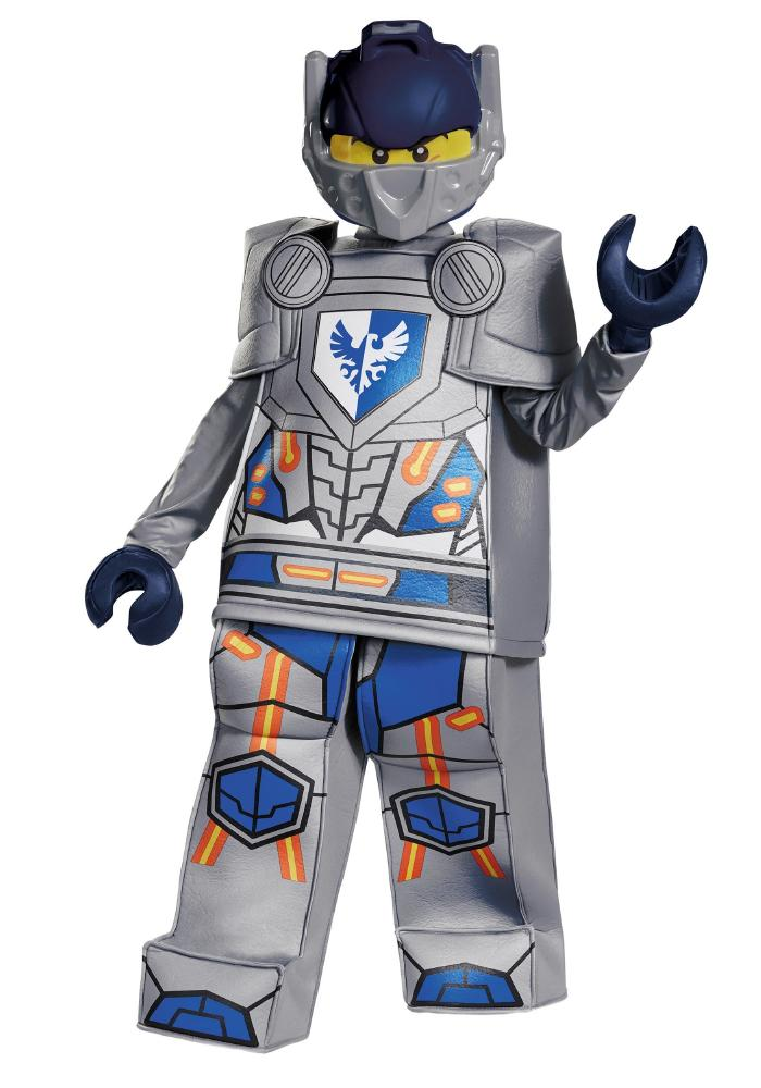 レゴ プレステージ ネキソ ナイト クレイ ボーイズコスチューム 5点セット 子供用 コスプレ衣装 (仮装、ハロウィン)