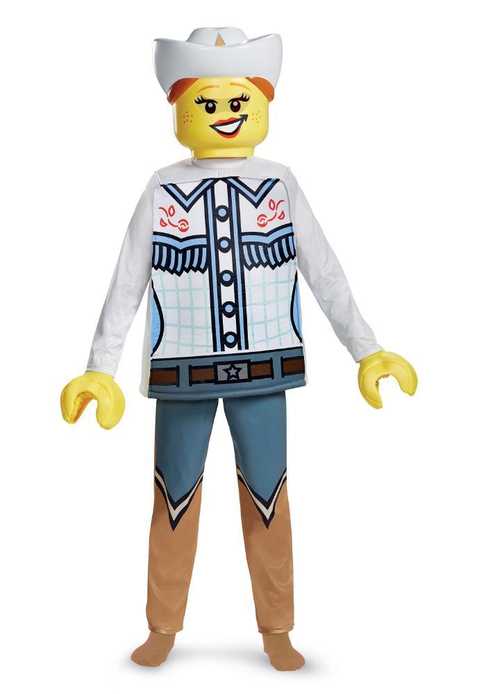 チャイルド レゴ カウガール デラックスコスチューム 4点セット 子供用 コスプレ衣装 (仮装、ハロウィン)