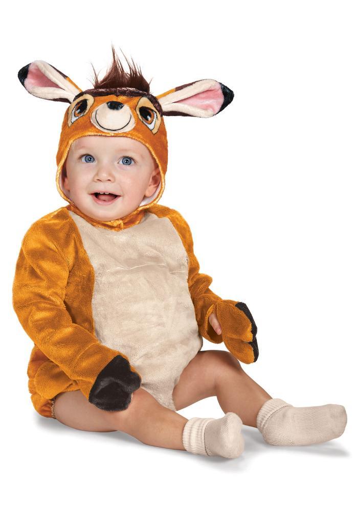 バンビ デラックス ベイビー 幼稚園 幼児コスチューム 2点セット 子供用 コスプレ衣装 (仮装、ハロウィン)