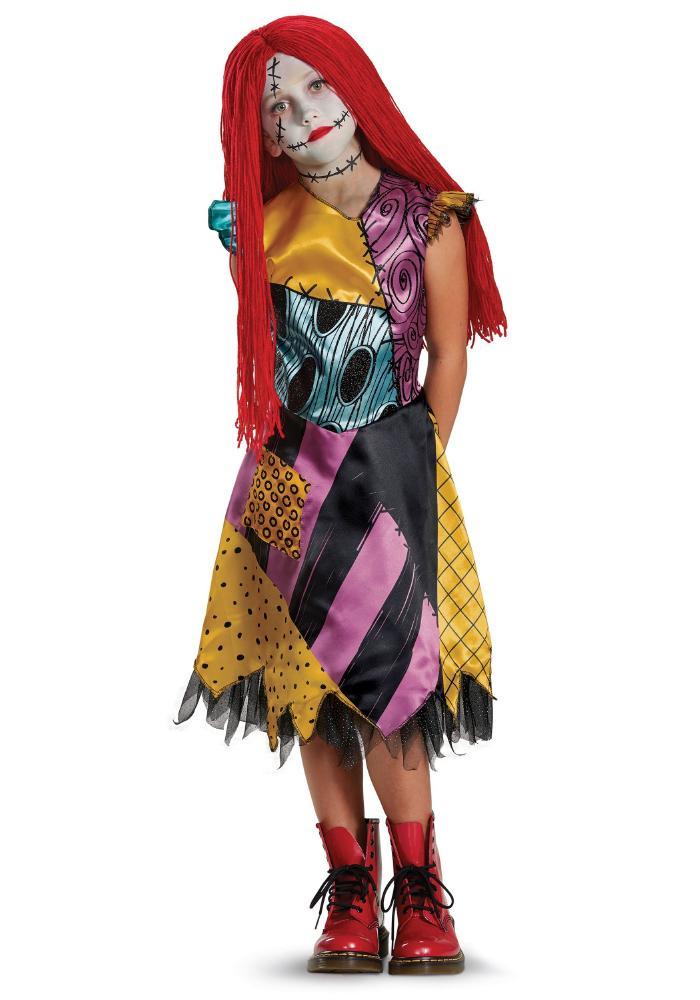 サリー デラックス ガールズコスチューム 子供用 コスプレ衣装 (仮装、ハロウィン)