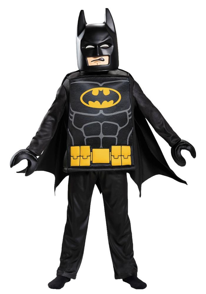 レゴLEGO バットマンムービー バットマン ボーイズコスチューム 5点セット 子供用 コスプレ衣装 (仮装、ハロウィン)
