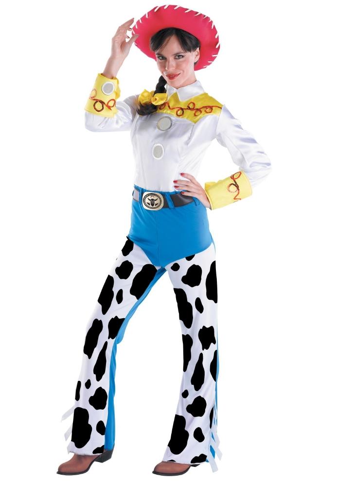 ディズニー トイ・ストーリー ジェシー 大人用コスチューム 3点セットコスプレ衣装  (二次会、結婚式、仮装、パーティー、宴会、ハロウィン) 女性