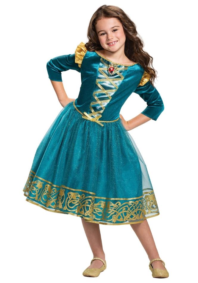 メリダとおそろしの森 ブレイブ メリダ クラシック ガールズ用 ドレス ハロウィン コスチューム 仮装 子供用 女の子