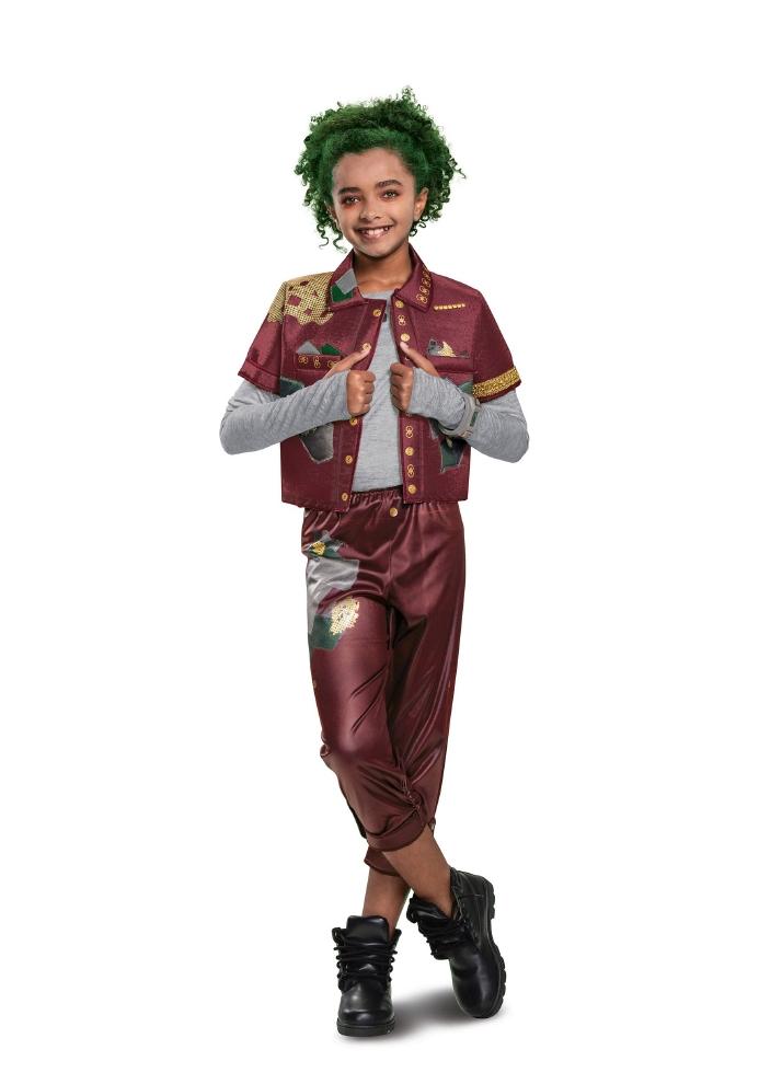 ディズニー ゾンビーズ デラックス イライザ ガールズ用コスチューム 2点セット 子供キッズ 女の子(結婚式、仮装、ハロウィン)