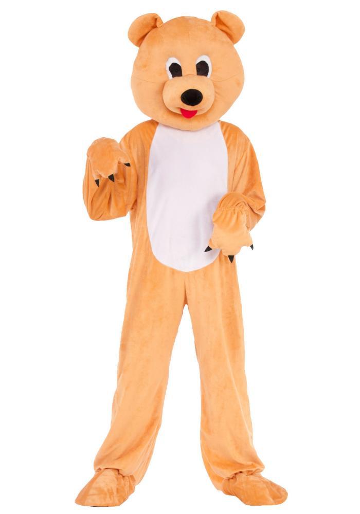 ベアー マスコットキッズコスチューム 2点セット 子供用 コスプレ衣装 (仮装、ハロウィン)