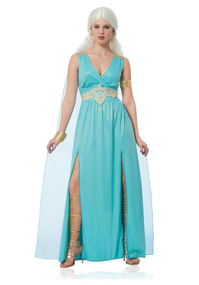 ドラゴンクィーン レディースコスチューム ハロウィンコスチューム  女性用 コスプレ衣装 (二次会、仮装、パーティー、ハロウィン)大人女性用