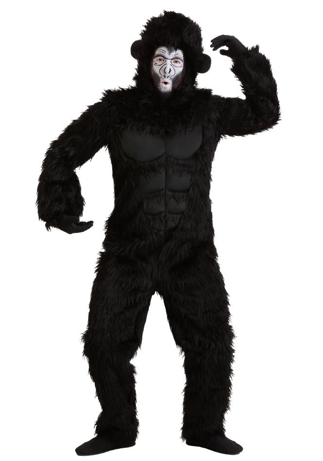 ゴリラ ハロウィン 大人用 コスチューム 仮装 2点セット 男性
