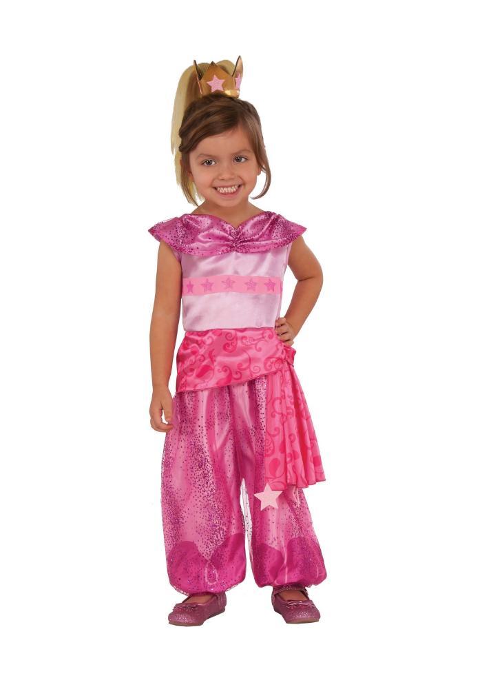 シマー&シャイン リア キッズコスチューム 3点セット 子供用 コスプレ衣装 (仮装、ハロウィン)