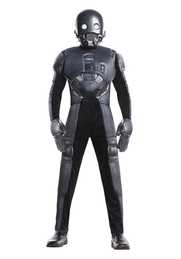 スターウォーズ:ローグ・ワン デラックス ドロイド ボーイズコスチューム 3点セット 子供用 コスプレ衣装 (仮装、ハロウィン)