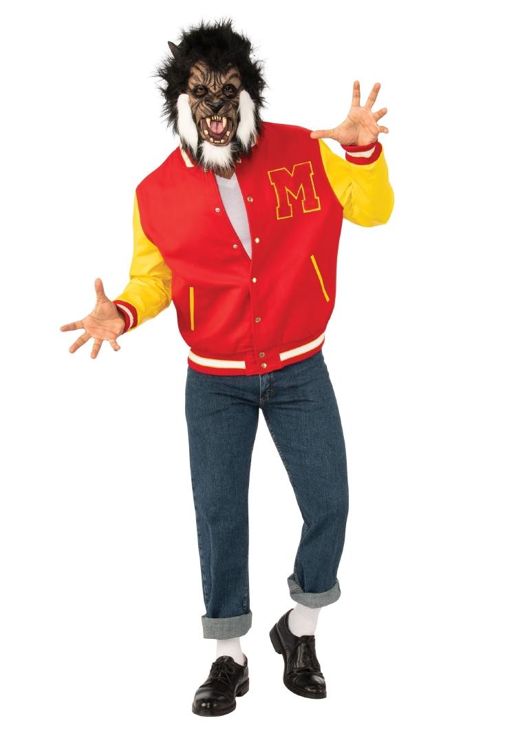 マイケルジャクソン スリラー 狼男 デラックス 大人用 2点セット メンズ コスチューム ハロウィン 仮装