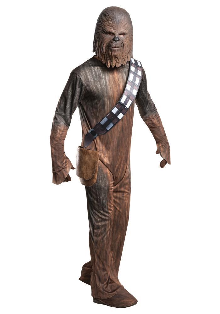 チューバッカ デラックス メンズコスチューム 4点セット 男性用 コスプレ衣装 (二次会、仮装、パーティー、ハロウィン)大人男性用