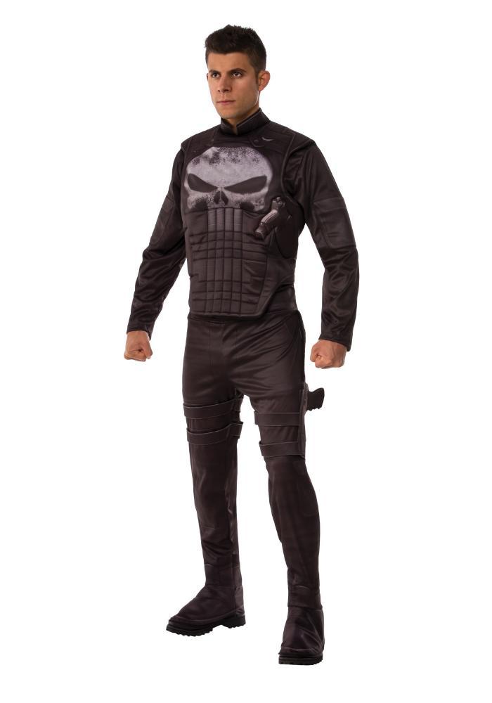 デラックス パニッシャー メンズコスチューム  男性用 コスプレ衣装 (二次会、仮装、パーティー、ハロウィン)大人男性用