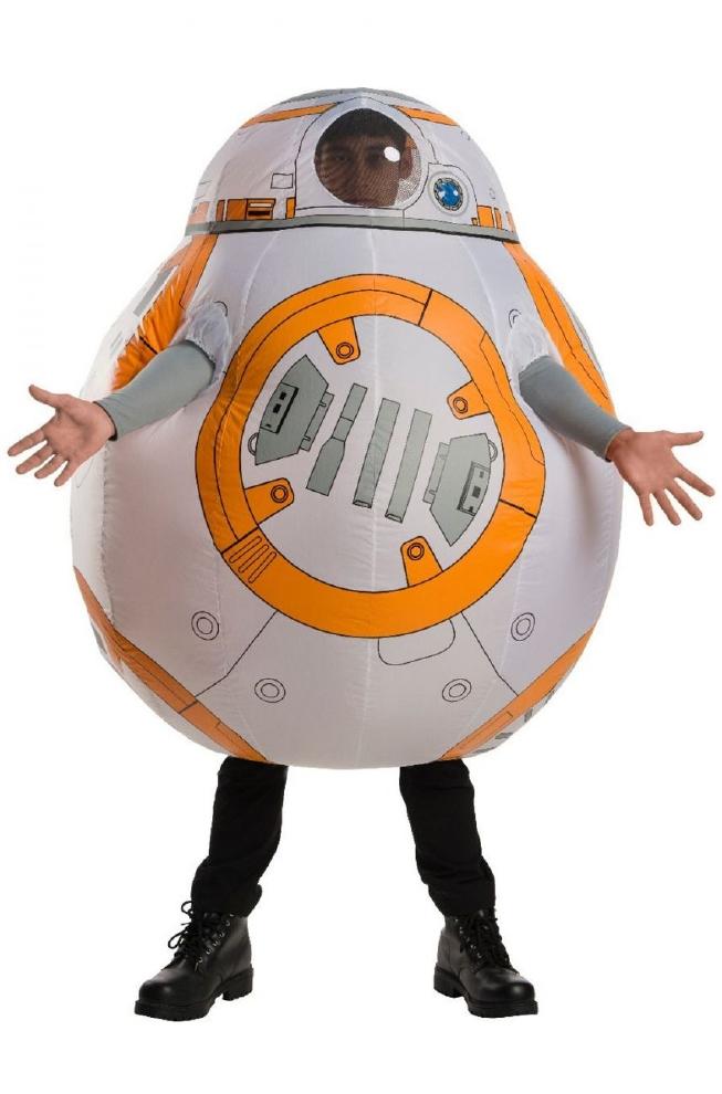 スター・ウォーズ 最後のジェダイ 最後のジェダイ BB-8 インフレータブル BB-8 大人用コスチューム 2点セットコスプレ衣装 かわいい かわいい (二次会、結婚式、仮装、パーティー、宴会、ハロウィン) 大人男性, KONOHA:bec3f3f7 --- officewill.xsrv.jp