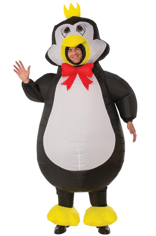 インフレータブル ペンギン 大人用コスチューム 2点セットコスプレ衣装 かわいい (二次会、結婚式、仮装、パーティー、宴会、ハロウィン) 大人男性