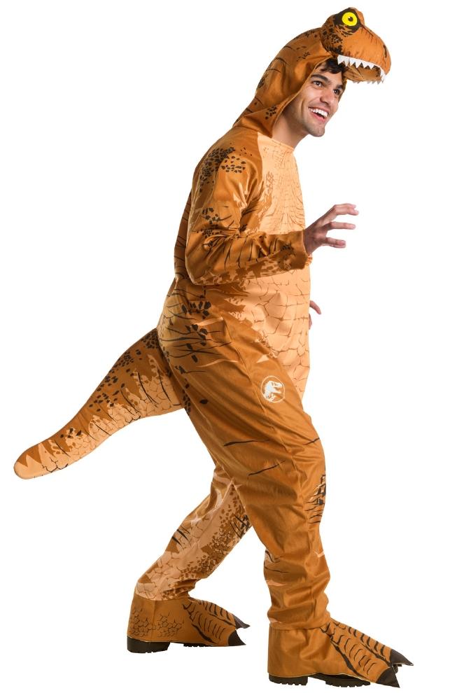 ジュラシック・ワールド T-REX 大人用( 大きいサイズ) ジャンプスーツコスプレ衣装 かわいい (二次会、結婚式、仮装、パーティー、宴会、ハロウィン) 大人男性
