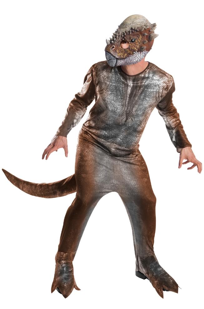 ジュラシック・ワールド スティギモロク 大人用コスチューム 3点セットコスプレ衣装 かわいい (二次会、結婚式、仮装、パーティー、宴会、ハロウィン) 大人男性