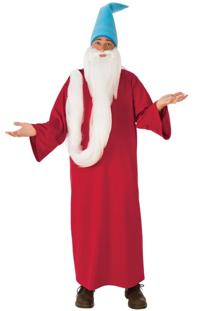 ウォーリーをさがせ ウィザード ホワイトビアード 大人用コスチューム 3点セットコスプレ衣装 かわいい (二次会、結婚式、仮装、パーティー、宴会、ハロウィン) 大人男性
