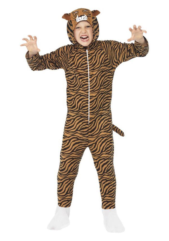 タイガー キッズコスチューム 子供用 コスプレ衣装 (仮装、ハロウィン)