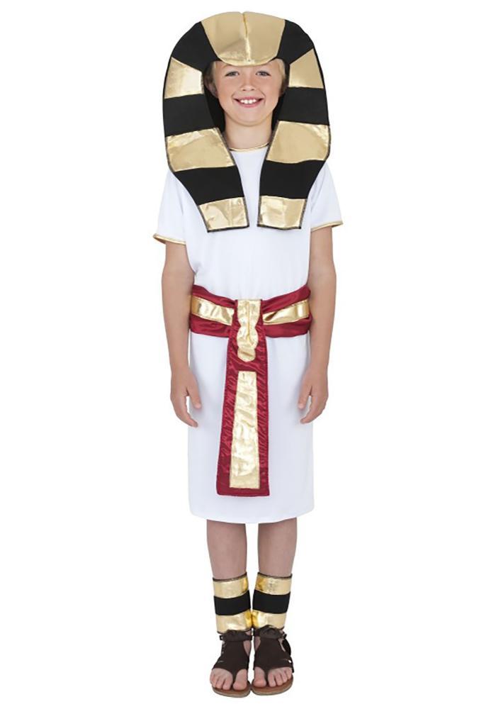 ファラオ ボーイズコスチューム 4点セット子供用 コスプレ衣装仮装、ハロウィンbyfY76g