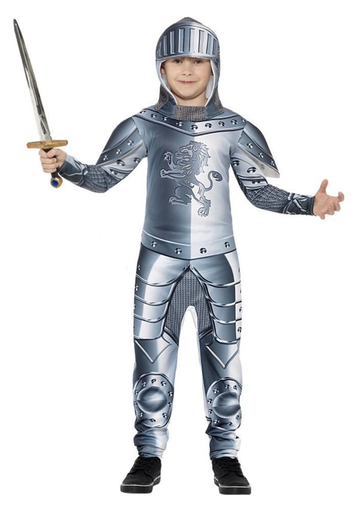 ナイト 騎士 ボーイズコスチューム 2点セット 子供用 コスプレ衣装 (仮装、ハロウィン)