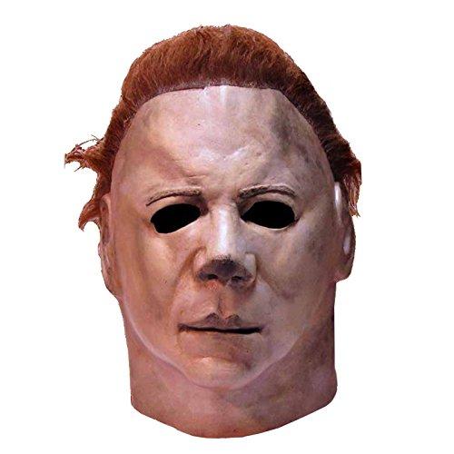 Halloween II MICHAEL MYERSマイケル・マイヤーズ マスク 公式ライセンスコスプレ衣装 (二次会、仮装、パーティー、ハロウィン)大人男性用