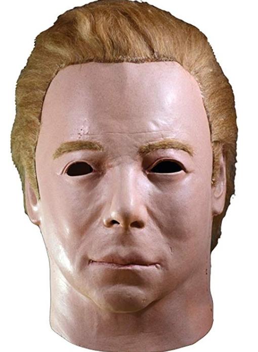 スタートレック1975 キャプテン カークマスク ハロウィン コスチューム