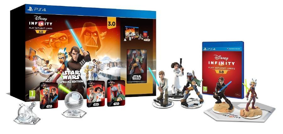Disney Infinity 3.0: Star Wars Starter Pack PS4北米版 輸入