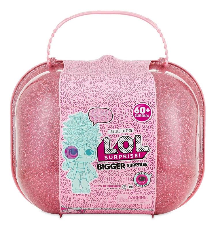 L.O.L. サプライズ ビッグサプライズ 60プラスのサプライズ 大容量 人形 フィギュア ギフト プレゼント