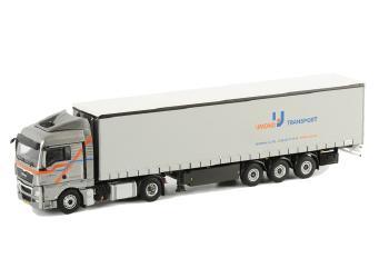 IJmond Transport MAN TGX XLX カーテンサイダー トレーラー 3軸 /WSIダブリューエスアイ 1/50   10264