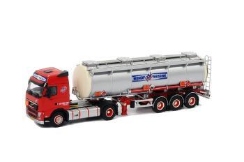 Nijhof Wassink ボルボ FH3 Globetrotter タンカートレーラー 3軸 /WSIダブリューエスアイ 1/50   9960