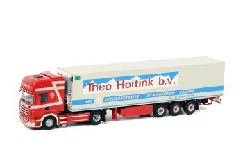 Theo Hoitink SCANIAスカニア R Topline リーファートレーラー Thermoking 3軸 /WSIダブリューエスアイ 1/50   9902