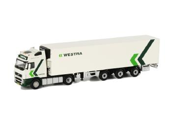 Westra Transport VOLVO FH2 Globetrotter XL リーファートレーラー Carrier 3軸 /WSIダブリューエスアイ 1/50   9803