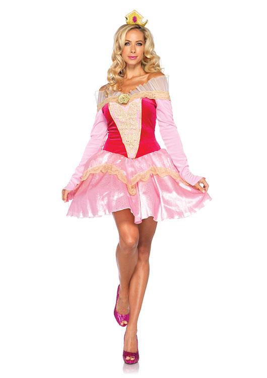 dp85052眠りの森の美女 プリンセスオーロラ 2ピースセット ディズニーコスチューム 仮装コスチューム コスプレ /LEG AVENUEレッグアベニュー コスプレ・仮装・ハロウィン・女性・大人用