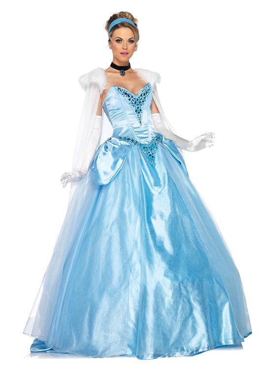 デラックスシンデレラ 5ピースセット 5ピースセット ディズニーコスチューム コスプレ衣装 (二次会、結婚式 女性 コスプレ衣装、仮装、パーティー、宴会、ハロウィン) 女性 大人用, 匠屋:ad175839 --- officewill.xsrv.jp