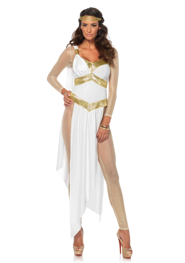 ゴールデンゴッドネス 3点セット 仮装コスチューム コスプレ /LEG AVENUEレッグアベニュー コスプレ・仮装・ハロウィン・女性大人用