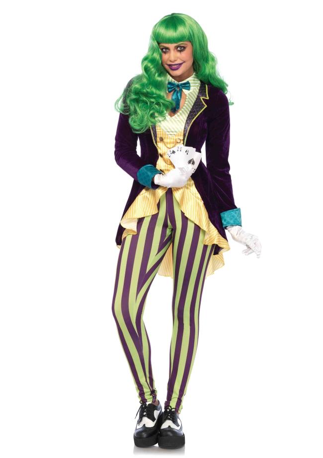 邪悪なトリックスター 3点セット 仮装コスチューム コスプレ /LEG AVENUEレッグアベニュー コスプレ・仮装・ハロウィン・女性大人用