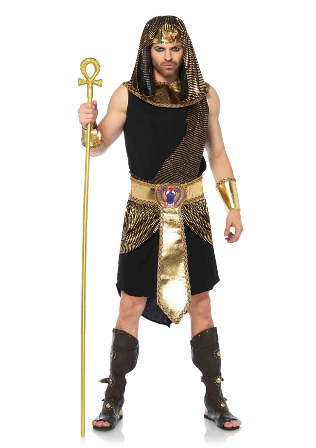 エジプトの神のコスチューム5点セット 仮装コスチューム コスプレ /LEG AVENUEレッグアベニュー コスプレ・仮装・ハロウィン・男性大人用