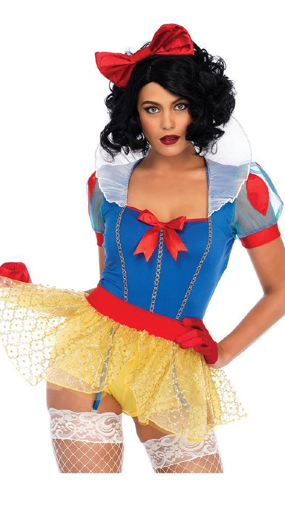 セクシー ミススノ- ハロウィンコスチューム 3点セットLegAvenueレッグアベニュー 女性用 コスプレ衣装 (二次会、仮装、パーティー、ハロウィン)大人女性用
