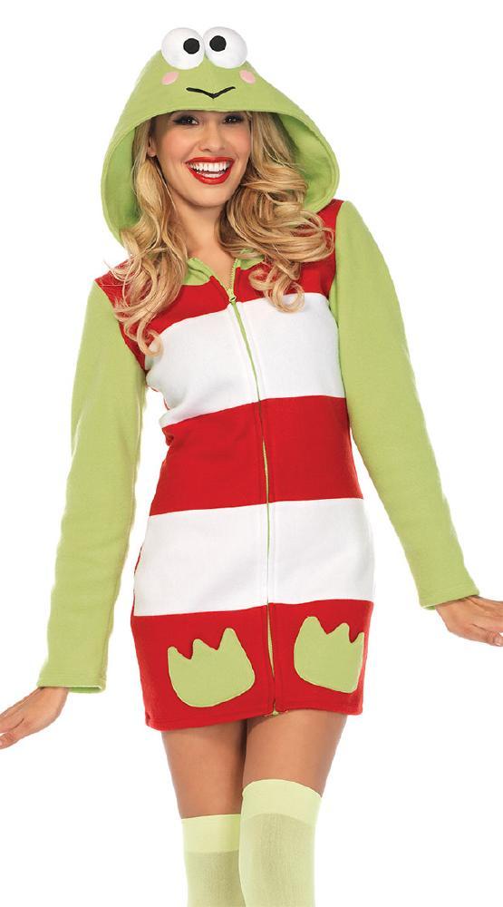 コージー ケロケロけろっぴ ハロウィンコスチュームLegAvenueレッグアベニュー 女性用 コスプレ衣装 (二次会、仮装、パーティー、ハロウィン)大人女性用