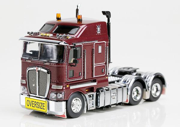 Kenworth K200 Prime Mover in Vintage Burgundy  トラック トラクタヘッド /DRAKE 建設機械模型 工事車両 1/50 ミニチュア