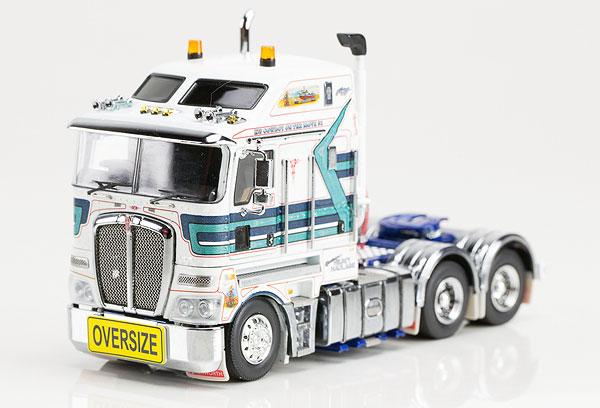 Mactrans Heavy Haulage - Kenworth K200 Prime Mover  トラック トラクタヘッド /DRAKE 建設機械模型 工事車両 1/50 ミニチュア