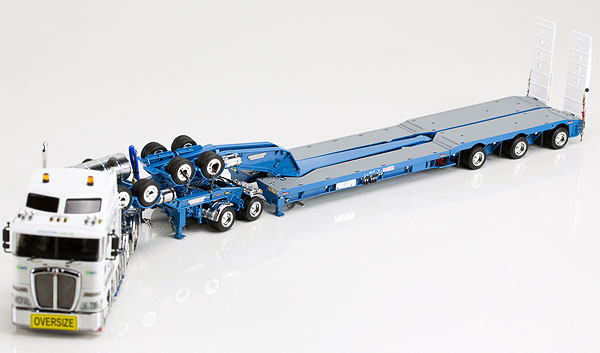 Nationwide Transport Solutions - Kenworth K200 Prime Mover with Drake 2x8 Dolly and 3x8 Swingwing Trailer トラック トレーラー /DRAKE 建設機械模型 工事車両 1/50 ミニチュア