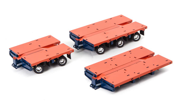 Accessory Pack for Drake Steerable Low Loader Trailer in Orange and Blue アクセサリー ※トレーラーは別売り /DRAKE 建設機械模型 工事車両 1/50 ミニチュア