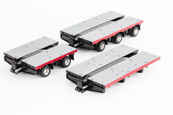 NHH Accessory Pack for Drake Steerable Low Loader Trailer アクセサリー ※トレーラーは別売り /DRAKE 建設機械模型 工事車両 1/50 ミニチュア