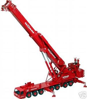 Grove GMK 7550 オールテレーンクレーン Markewitschバージョン 526/02 /NZG 1/50 建設機械 工事車両 模型