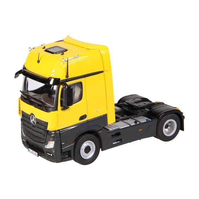 メルセデスベンツアクトロス 4X2, FH25 トラクタヘッド トラック /NZG 1/50 建設機械模型