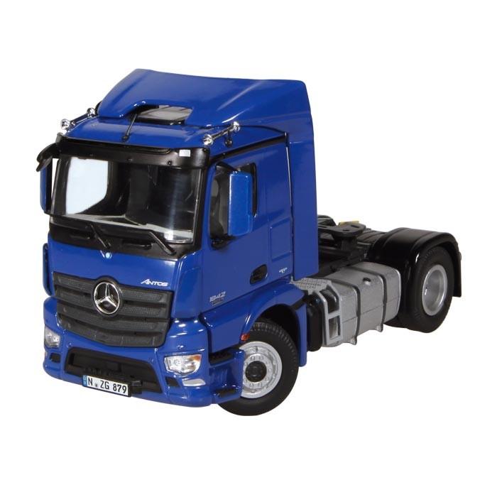 【予約】2013年発売予定MERCEDES BENZ ANTOSメルセデスベンツ 4X2, FH 600M トラック トラクタヘッド /NZG 1/50 建設機械模型